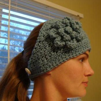 Crochet Head Warmer Tiffany Blue Do Bop Diva