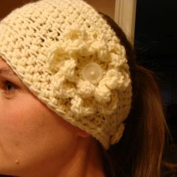 Crochet PDF Pattern Do Bop Diva Head Warmer